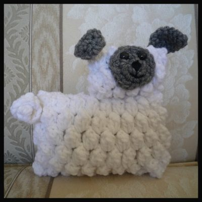 crochet lamb 400x400 Another Edition of Crochet Link Love!