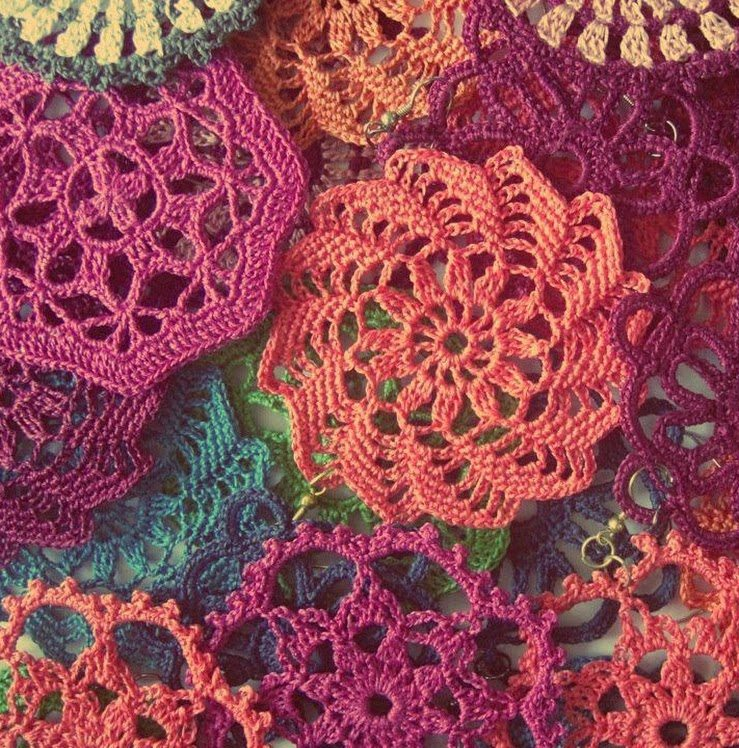 Crochet Patterns For Motifs : crochet motifs trey ajusto