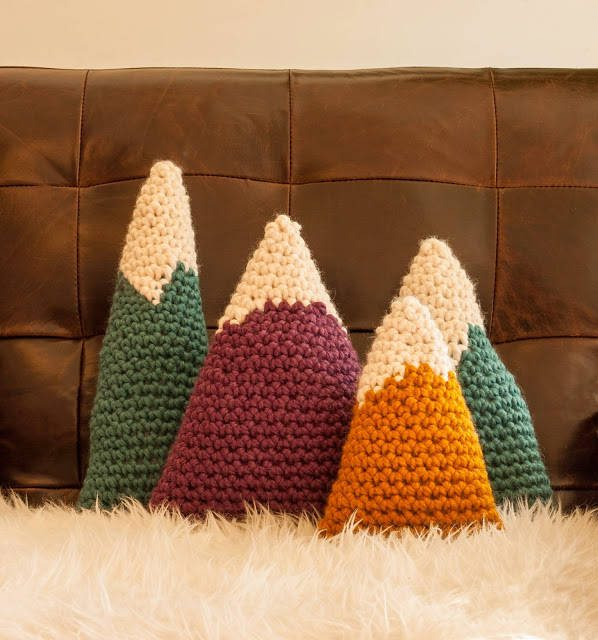 crochet mountains