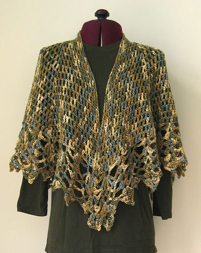 crochet shawl pattern 10 Most Popular Free Crochet Shawl Patterns