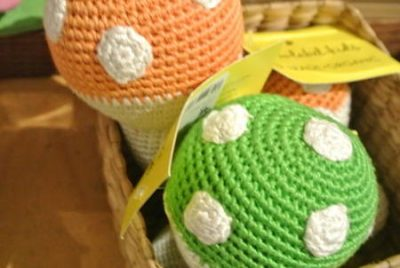 fair trade crochet toy 400x268 Yellow Label Toys: Fair Trade Crochet