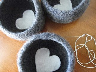 felted crochet bowl pattern