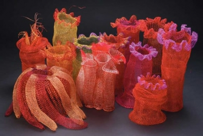 fisch crochet wire coral 400x267 Exciting New Book News: The Fine Art of Crochet
