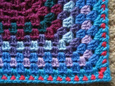 granny crochet blanket