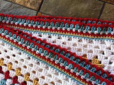 granny square blanket I Heart Crochet Blogs! This Weeks Link Love!