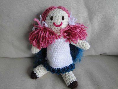 poupée au crochet d'Ingrid zambrano