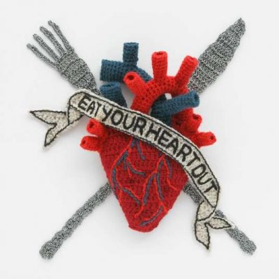 kate jenkins crochet heart 400x400 25 More Crochet Artists to Inspire You