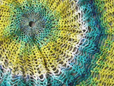 kristen saco de plástico crochet Wicklund
