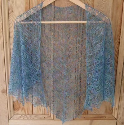 laceweight crochet shawl pattern 400x405 10 Most Popular Free Crochet Shawl Patterns