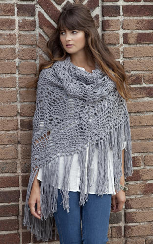 large free crochet shawl pattern