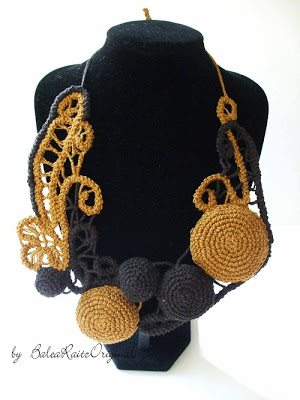 romanian point lace necklace The Crochet Link Love of the Week!