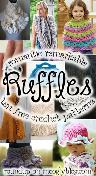 Ruffle crochet patterns