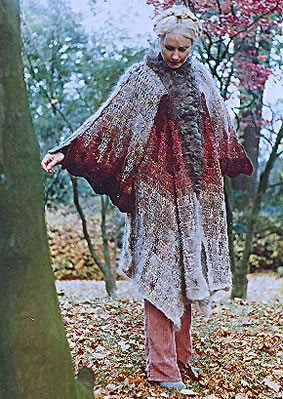 sylvia cosh james walters crochet cape