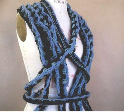 ty Tham wearable art crochet
