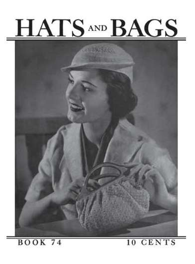 vintage crochet hats and bags 50 Years of Crochet History: 1936