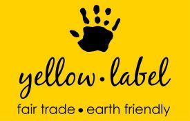 yellow label fair trade crochet