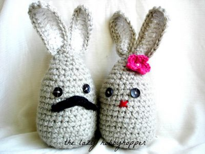 crochet bunny patterns 400x300 20+ Best New Free Crochet Patterns and Crochet Tutorials (Mid Week Link Love)