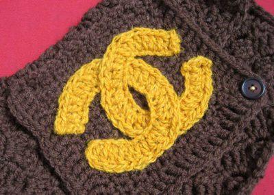 crochet chanel bag