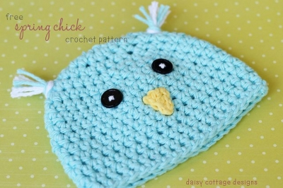 crochet easter hat pattern 400x266 I Heart Crochet Blogs! This Weeks Link Love!