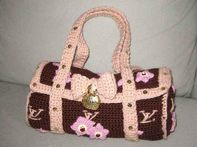 crochet louis vuitton bag