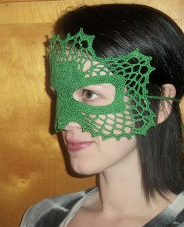 crochet mask pattern