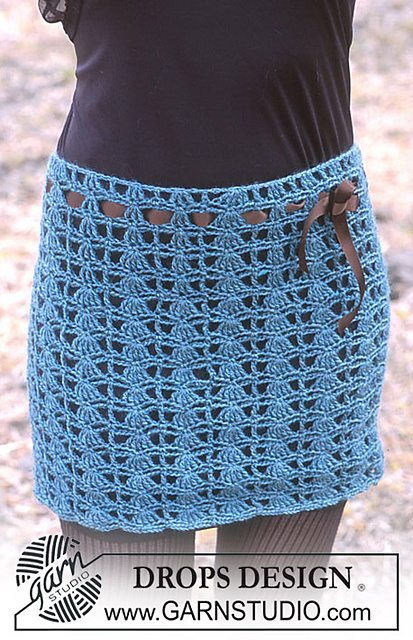 crochet mini skirt pattern