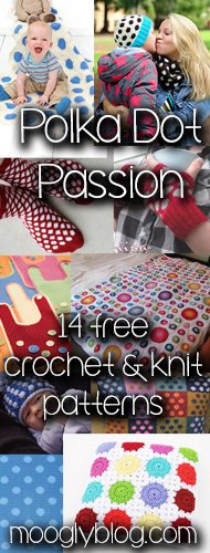crochet polka dot pattern I Heart Crochet Blogs! This Weeks Link Love!