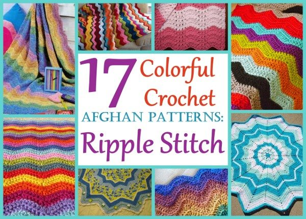 crochet ripple patterns