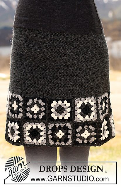 crochet skirt pattern free