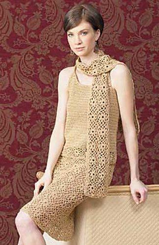 crochet skirt skirt scarf pattern free