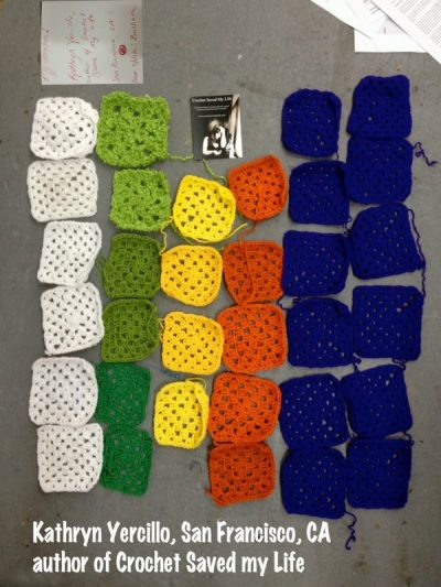 crochet squares 400x533 Crochet Blog Roundup: March and April in Review