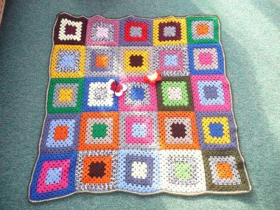 crochet squares blankets