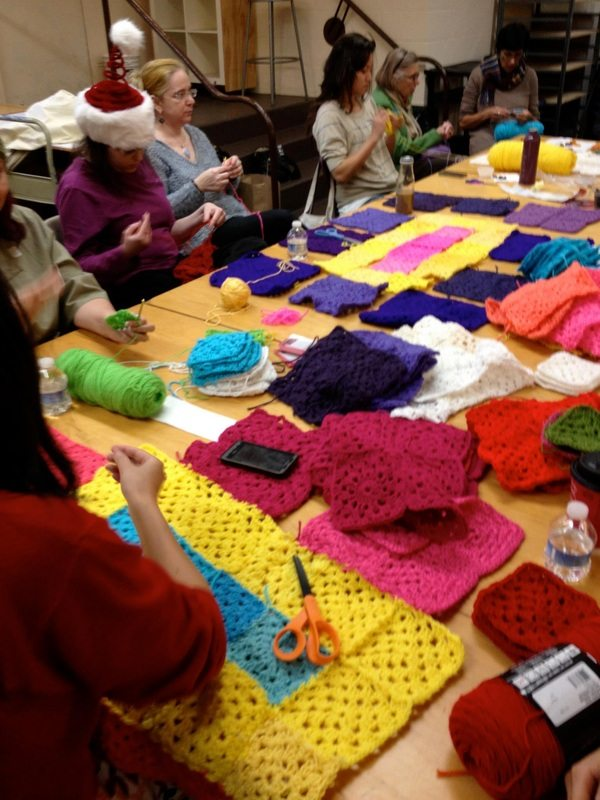 Post image for 34 Crocheters Donated 100+ Squares to Worldwide Community Art Project