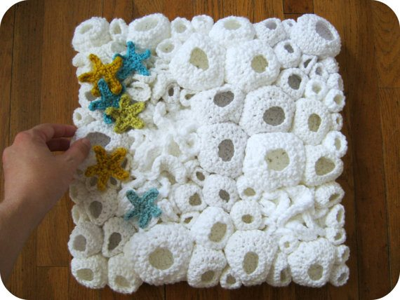 Crochet Art : crochet wall art