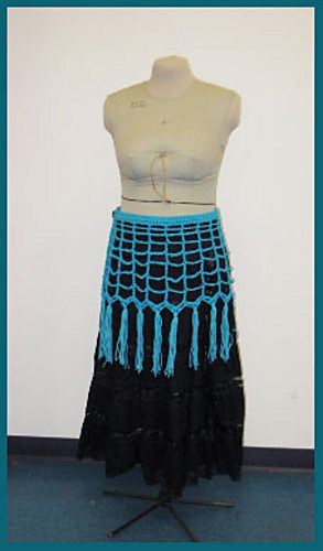 crochet wrap skirt free pattern