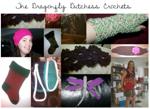 Post image for 5 Beautiful Crochet Creations by The Dragonfly Dutchess