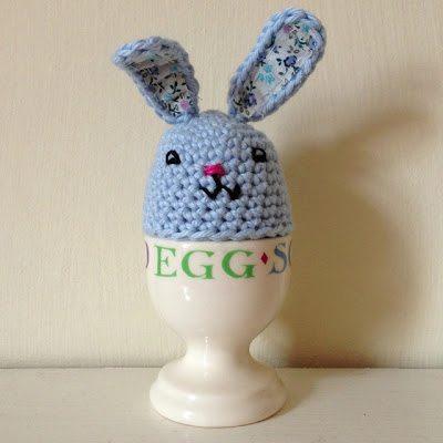 free crochet bunny egg pattern