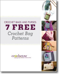 Free ebook of crochet purse patterns from @crochetme