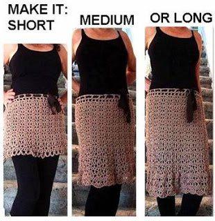 hoe je een rok haken