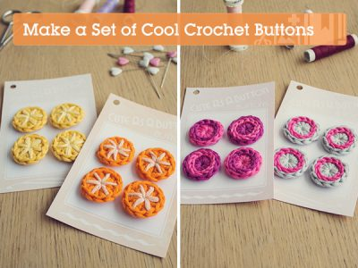 how to crochet buttons 400x300 20+ Best New Free Crochet Patterns and Crochet Tutorials (Mid Week Link Love)