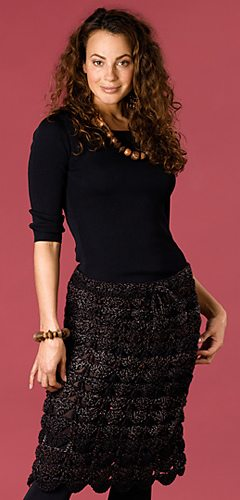 little black crochet skirt 20 Popular Free Crochet Skirt Patterns for Women