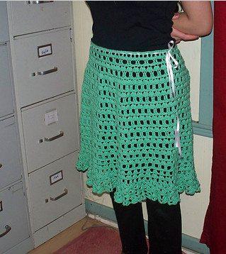 gegolfde haak rok pattern