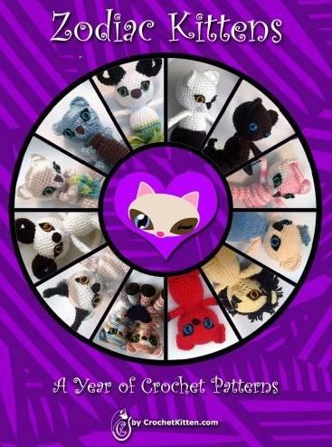 zodiac crochet kitten patterns Crochet Blog Roundup: March and April in Review