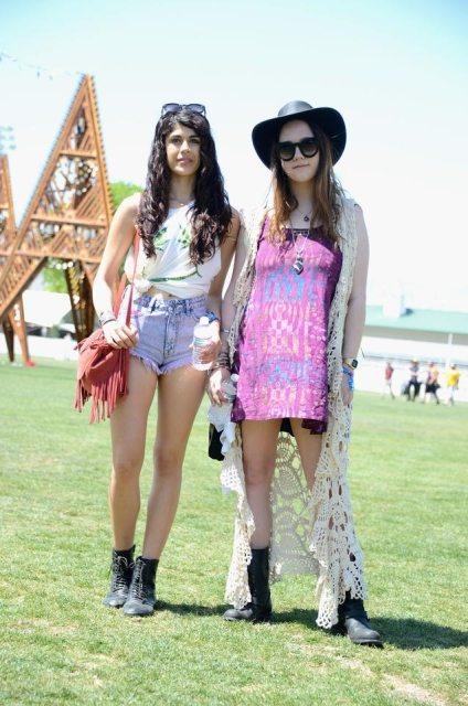coachella crochet fashion