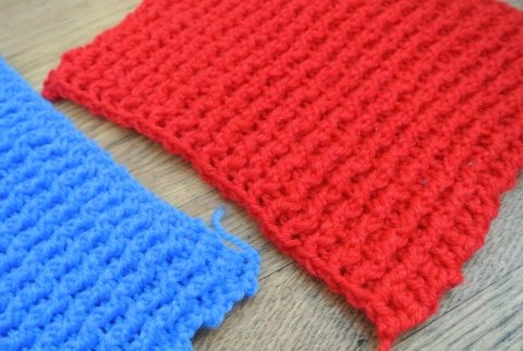 Post image for The Power of Dollar Yarn Crochet Rectangles (Crochet is More Than Meets The Eye)