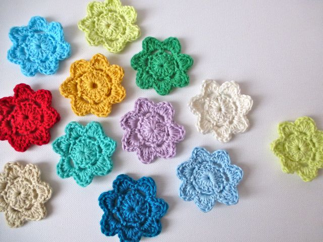 Crochet Square Patterns Crochet Flower Pattern