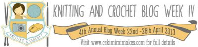 knit and crochet blog week 400x96 Knit and Crochet Blog Week 2013
