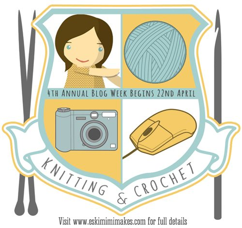knit and crochet blog week logo