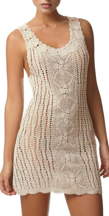 white crochet dress pattern 2013 in Crochet