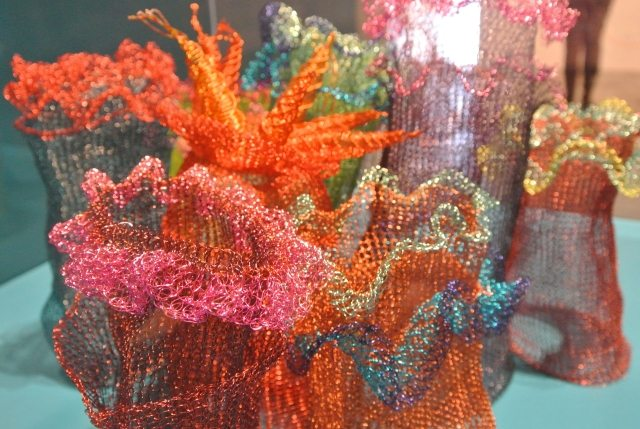 Post image for Arline Fisch Crochet Wire Jellyfish Exhibit
